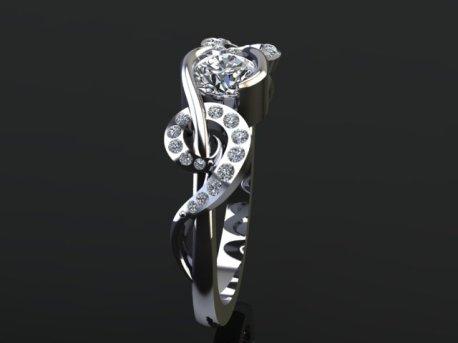 Sole Key Ring