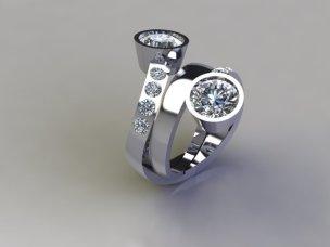 Jade 3 in 1 Ring g)